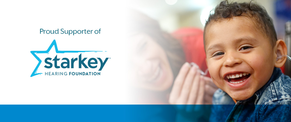 Proud Supporter of the Starkey Hearing Foundation